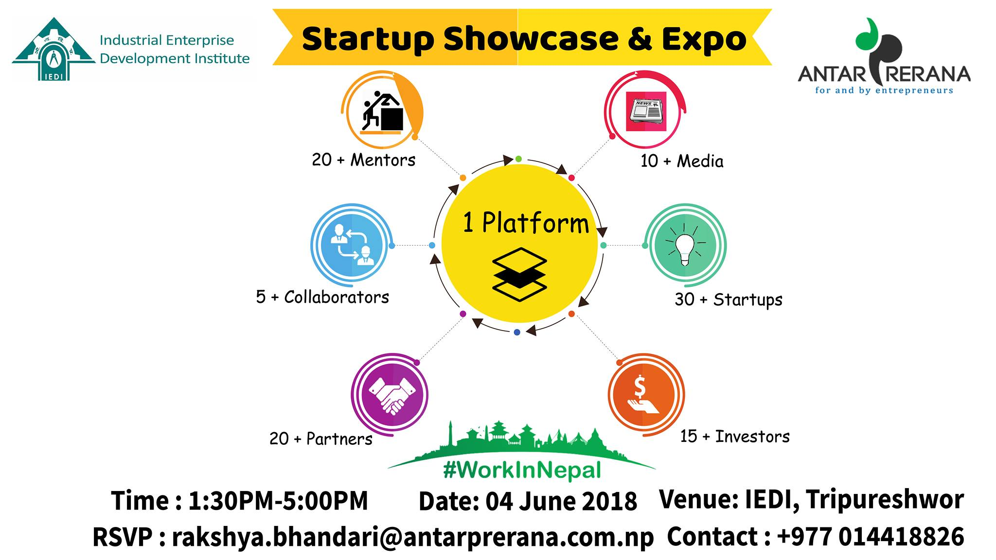 Start Up showcase and Expo