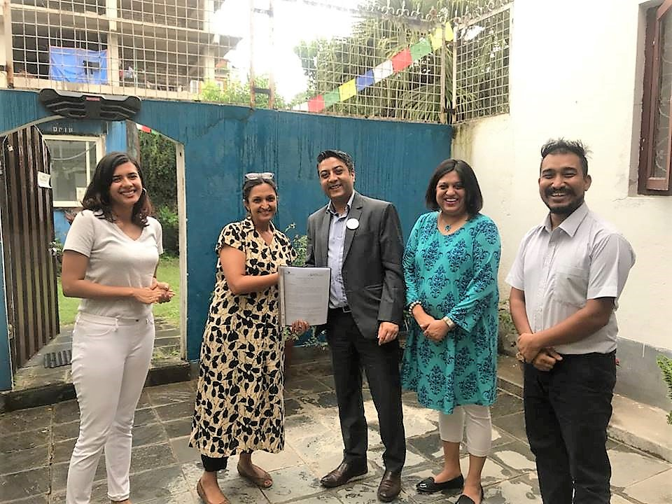 Nepal Communitere, Collaboration & Partnership on cross mentorship, (2018)