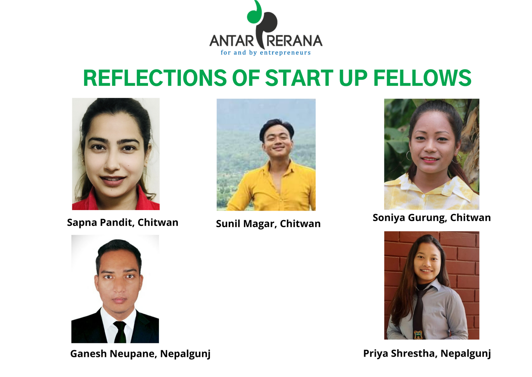 [September] Reflections of Start up Fellows